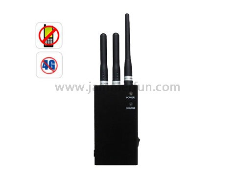 4G Cell Phone Blocker - Portable XM Radio LoJack 4G Signal Jammer