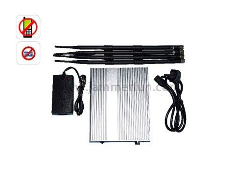 Super Powerful Wireless Phone Signal Jammer With 50 Meters Radius Work 24 Hours