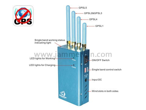 phone jammer portable electronic - GPS Jammer Pro - High Power Portable GPS (GPS L1/L2/L3/L4/L5) Jammer Blocker