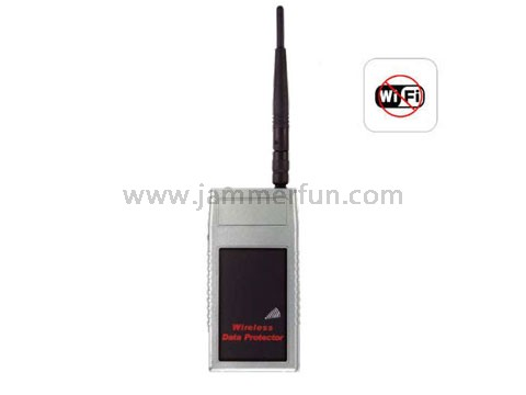 Portable WiFi Bluetooth Signal Jammer with Range adjustment For Sale