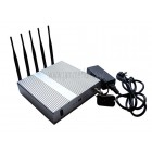 Latest  High Power 12W 4G LTE Cell Phone Wifi Signal Jammer Blocker With Remote Control
