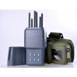 Latest All-in-one Hidden Style Portable Handheld Selectable 2G 3G 4G Cell Phone GPS Signal Jammer