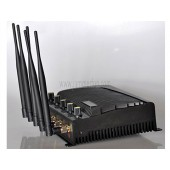 High Power 5 Antennas 4G LTE Wimax 3G Cell Phone Signal Jammer Device - Canada Version
