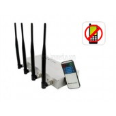 High Top Signal Jammer - Cell Phone Jammer with Remote Control