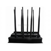 3G 4G Cell Phone Jammer - Latest Adjustable 16W 4G LTE Mobile Phone Jammer + Wifi Bluetooth VHF UHF Blocker