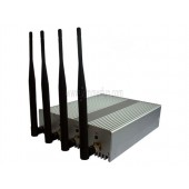 4W High Power Wifi Jammer For Sale - Powerful All Wifi Signal Jammer Blocker (2.4G 5.2G 5.8G) With Remote Control