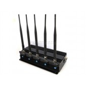 Adjustable Desk All Frequency 3G 4G LTE WIMAX Cell Phone Jammer