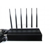 High Power 6 Antenna Cell phone Jammer - RF Jammer (315MHz/433MHz)