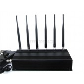 Complete Functions Top Power 6 Antenna Cell phone WiFi RF Signal Jammer - Jammer Wholesale China