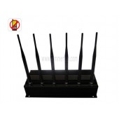 4G Cell Phone Blocker - 3G/4G High Power Cell phone Jammer with 6 Powerful Antenna