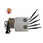 Pro Jamming Kit - High Power 3G Cell phone Jammer with Outer Detachable Power Supply
