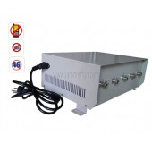High Power 70W Cell Phone 4G Wimax Signal Jammer with Directional Antennas