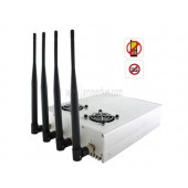 2012 Hot New High Power Desktop Cell Phone Jammer (CDMA/3G/GSM ) Blocker With 2 Cooler Fans