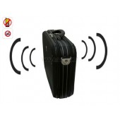Portable Cell Phone Jammer (Middle RF power jammer +Handbag design) For VIP People