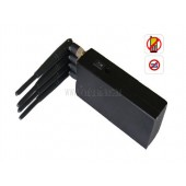 Buy Portable High Power Hand Held 4W Cell Phone Signal Jammer Blocker Isolator