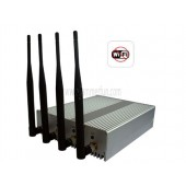2.4G / 5.8G High Power 4W All WiFI Signal Jammer Blocker