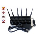 Complete Functions High Power Adjustable 6 Antenna 15W WiFi GPS Mobile Phone Jammer